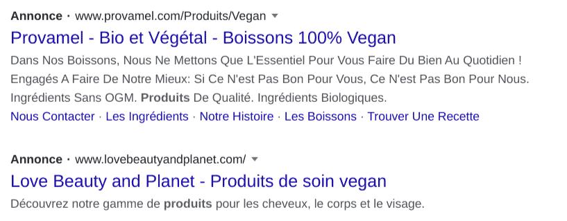 idée de blog : vegan 2